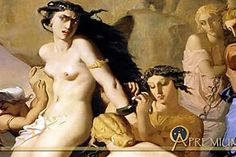 Theodore Chasseriau Andromeda Chained to the Rock by the Nereids oil painting for sale; Select your favorite Theodore Chasseriau Andromeda Chained to the Rock by the Nereids painting on canvas or frame at discount price. William Adolphe Bouguereau, Henri Matisse, Pierre Auguste Cot, Jean Leon, Richard Williams, Les Nereides, Religious Paintings, Academic Art, Peter Paul Rubens