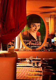 Cafe Les Deux Moulins, #Montmartre #Amelie #film