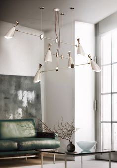 Duke suspension lamp is a 70's groovy suspension fixture ideal to suit in a contemporary living room.