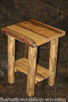 1000 Ideas About Log End Tables On Pinterest Log