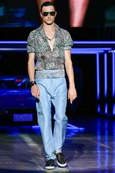 Roberto Cavalli Menswear Spring Summer 2015 Milan