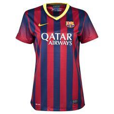 Tienda Futbolmania somos Barcelona Home Shirt 2013/14 - Womens tj8 balones y mucho más.Equipaciones Fútbol Hombre Y Mujre.