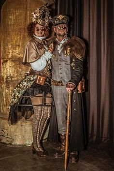 Last weekend at the Steampunk fair in Bochum/Germany Picture: Daniel Giesler