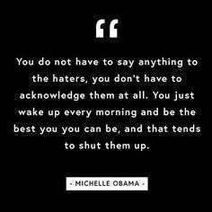Word!  @michelleobama #Oprah #StateOfWomen #EmpoweringWomen #InspiringWomen #QuoteOfTheDay #RG @thezoereport