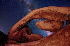 """Rockstar"" - The Milky Way from Joshua Tree National Park by Stephen Oachs (ApertureAcademy.com), via Flickr"