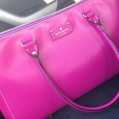 I pinned this Kate Spade bag as i love the shape and the delicate hint of purple