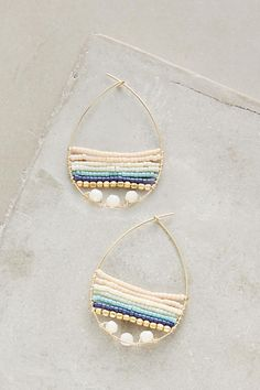 okay ladies, it's all about layers this season, even with beads! these baydrops hoops are the perfect way to rock the trend - get even more style and shopping inspiration on http://jojotastic.com/shop-my-favorites/