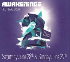 2014 | Two Days Awakenings Festival june 28th | 29th