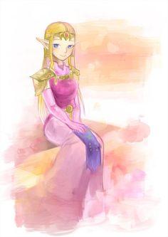 Princess Zelda by 若芽ごはん @mb_ei61