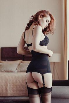 Redhead Stockings 71