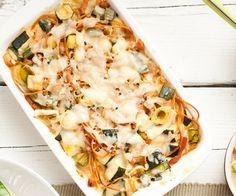 Recept: Ovenschotel met spaghetti | Gezond eten