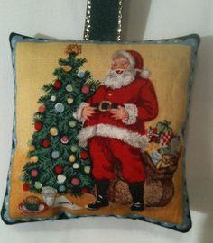 Christmas Fabric Retro Santa Lavender Bag / Christmas Decoration - Handmade in Home, Furniture & DIY, Celebrations & Occasions, Christmas Decorations & Trees | eBay