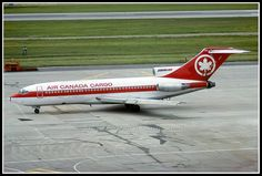 "C-GAGZ Air Canada Cargo B727 freighter ""Couriair"" 