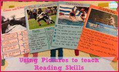 Using Pictures to Teach Key Reading Skills: fact and opinion, cause and effect, main idea, and so on