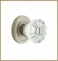Crystal and Glass Door Knobs and Pulls