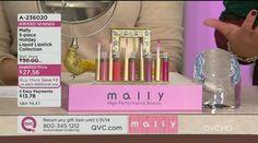 Mally 5-piece Liquid Lipstick Collection - A236020 — QVC.com Mally Cosmetics, Lipstick Collection, Liquid Lipstick, Qvc, Diffuser, Beauty, Cosmetology
