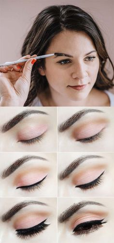 Eye brows can be a scary point to attempt to fill in, specifically for the first time. If you are a newbie and need to get into the actu. Eye Brows, Brows On Fleek, Smokey Eye Makeup, Glossy Makeup, Dramatic Makeup, Makeup For Brown Eyes, Fresh Makeup Look, Makeup Looks, Freckles Makeup