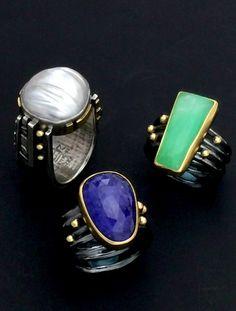 Rings by Elaine Rader