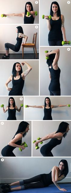 9 Ejercicios para brazos tonificados - 9 Exercises for toned arms