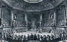 Salón de baile para II Grand Divertissement Royal de 1668, Versalles