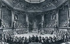 Salón de baile para II Grand Divertissement Royal de 1668, Versalles