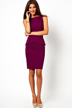 Found: The Perfect Work Dress  #refinery29