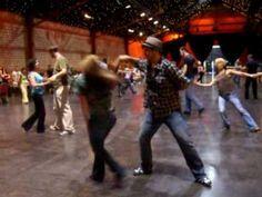 West Coast Swing dance: Maxence Martin and Tatiana Mollman at FOWCS