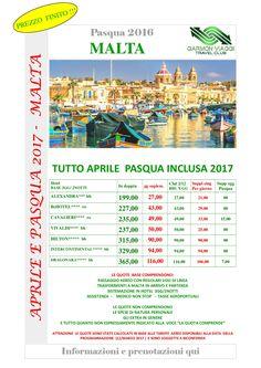 Aprile+Pasqua a Malta in aereo da Catania e Palermo – Garmon Viaggi Tour Operator