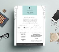 Professional Resume Template and Cover Letter by ThisPaperFox