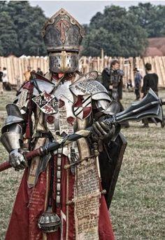 Warhammer Fantasy Warrior Priest Cosplay