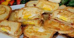 Fabulosa receta para Sandwich para el desayuno. Aqui en los EEUU el desayuno es la comida más importante del dia y de ser posible es sustancioso. Aqui les presento un delicoso sandwich que se llama One Eye Jack que es disfrutado por todos en la familia.