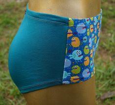 4385.180726.144548_schlmonsterblautrks1 Bunt, Gym Shorts Womens, Fashion, Fashion Styles, Briefs, Fabrics, Homemade, Handarbeit, Cotton
