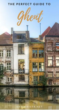 You HAVE to visit this charming city in Belgium for yourself. Here are 10 lovely tips for things to do in Ghent! #ghentbelgium #ghenttravel #europetravel