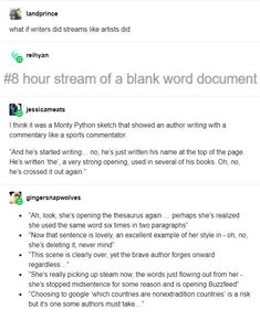 I feel personally attached by this 😂😂 Writing Humor, Writing Quotes, Writing Advice, Writing Help, Writing A Book, Writing Prompts, Story Prompts, Writing Worksheets, Writing Ideas