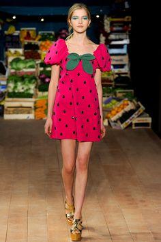 Moschino Strawberry Dress.