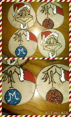 Team grich ornaments