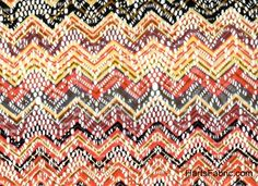 Missoni Zigzag floral lace at Harts Fabric