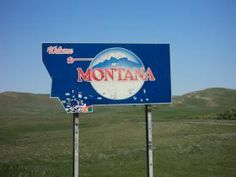 June 2013 - Entering Montana from Wyoming on Interstate 90