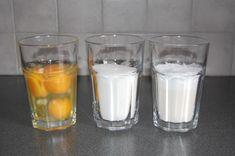 Tårtbotten – tre lika delar | Fru Lilja Pint Glass, Glass Of Milk, Cooking Recipes, Eat, Tableware, Desserts, Breads, Cheesecake, Food
