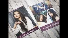 How To Make Your Own Model Comp Card In Photoshop Within Free Model Comp Card Template Model Comp Card Card Templates Free Card Template