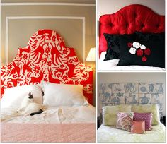 How To Make A Headboard  {16 Free Patterns} ... http://www.tipjunkie.com/diy-decorating/how-to-make-a-headboard/#