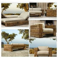 restoration hardware - Restoration Hardware Outdoor Furniture