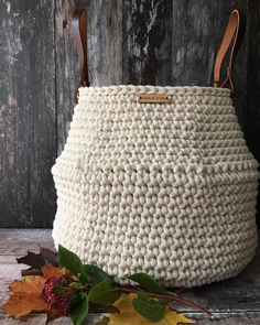 79 Best Crochet Basket Images On Pinterest In 2018