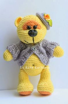 Katkyta handmade toys and other hand-made crafts, and not only: Bear