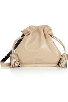Loewe Flamenco 30 leather shoulder bag NET-A-PORTER.COM