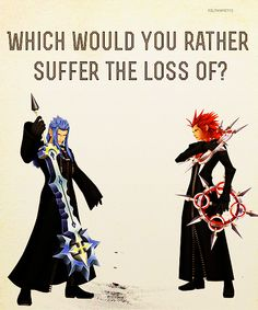 """""""Which would you rather suffer the loss of? Some make believe friendship... or a real one?"""""""