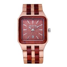 SKONE Male Date Natural Wooden Watches Men Antique Wood Watch Luxury Casual Quartz Wristwatch Shock Resistant relogio masculino