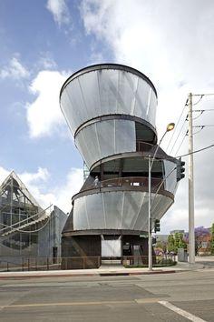 Moss Architects, Samitaur Tower, Culver City, California
