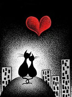 Cats〰➰〰Kittens❗➖Carrying Your Heart With Me. By: Ben Heine. Crazy Cat Lady, Crazy Cats, I Love Cats, Cool Cats, Ben Heine, Here Kitty Kitty, Kitty Cats, Cat Drawing, Cat Art