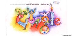 Doodle 4 google india is designed by Arun Kumar yadav student of 9th class. He is winner of doodle 4 google india competition